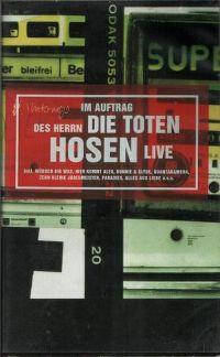Cover Die Toten Hosen - Im Auftrag des Herrn... Die Toten Hosen Live [DVD]